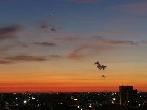 sunset 彰化 夕陽 八卦山