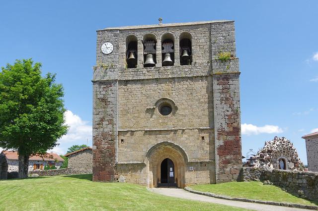 Saint-Paul-de-Tartas (Haute-Loire) : église Saint-Paul