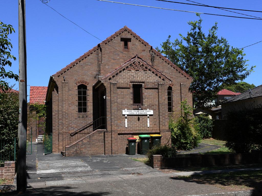 St Marks Presbyterian Church, Concord, Sydney, NSW.
