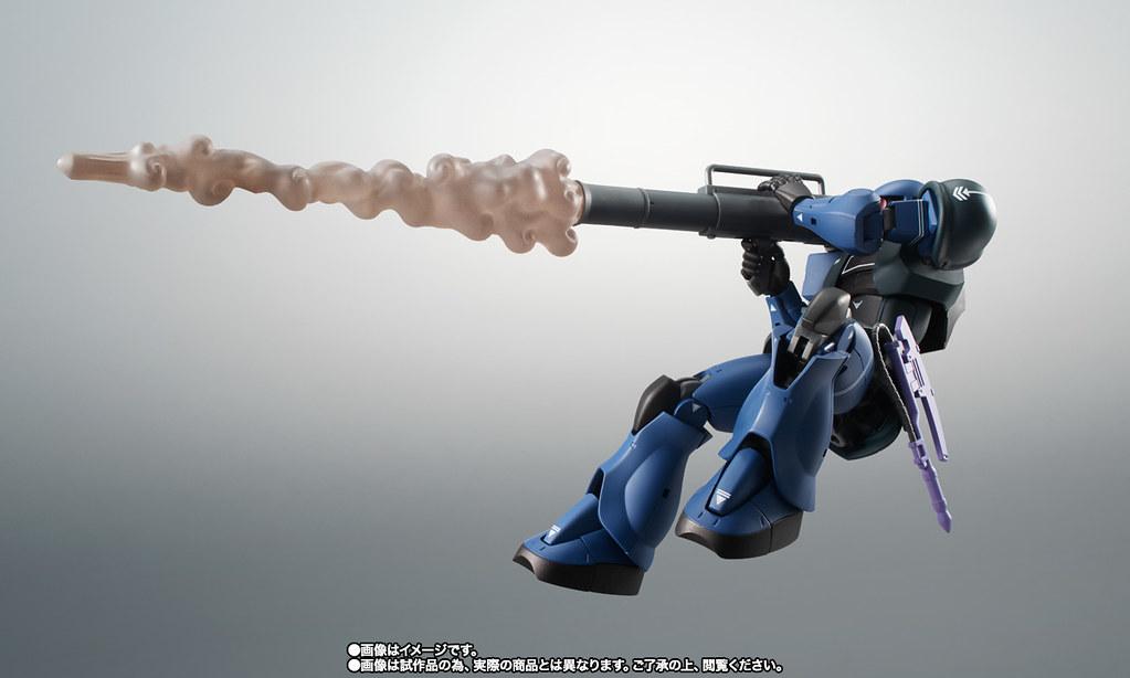 三位一體的噴射氣流攻擊! ROBOT魂《機動戰士鋼彈MSV》MS-05B 舊薩克(旧ザク) ver. A.N.I.M.E ~黑色三連星~