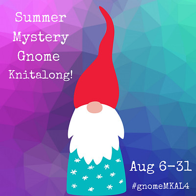 Sarah Schira has a new Mystery Gnome Knit-along that starts August 6th!