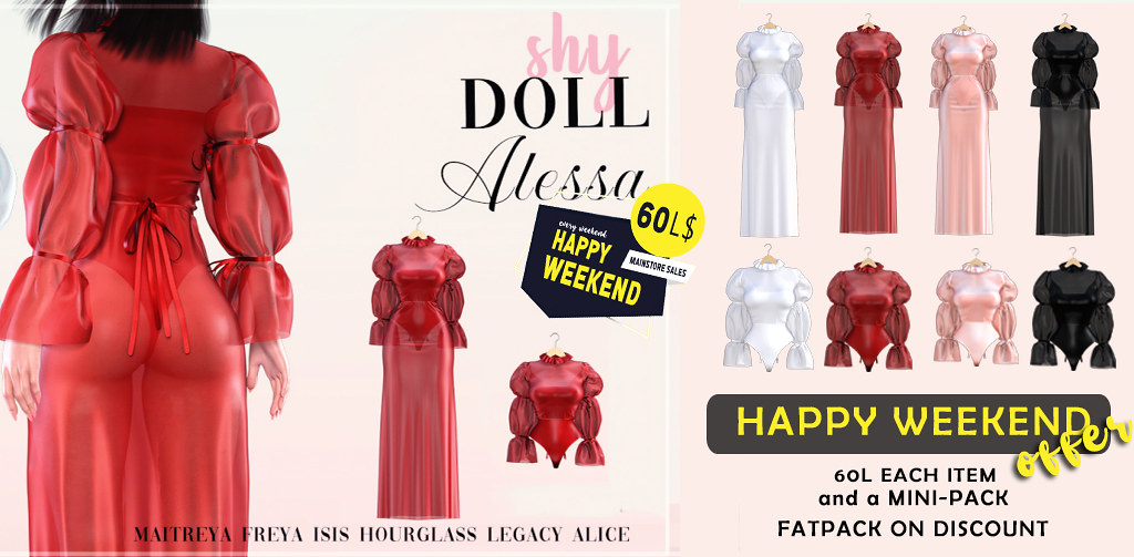 Happy Weekend sale PROMO!!