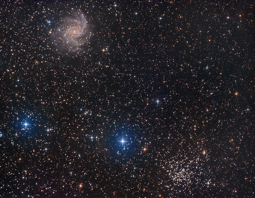 astrophotography astronomy asi1600mc space sky stars star science galaxy galaxies cluster fireworks ngc6946 ngc6939 night nature natur nightsky ngc zwo amazing