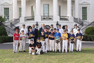 President Trump Hosts the Opening Day of the Little League Baseball Season | by The White House