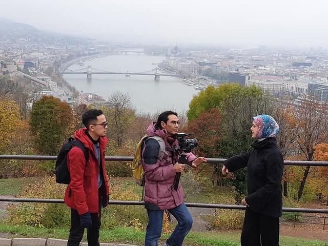 temu bual dalam Muslim Footstep