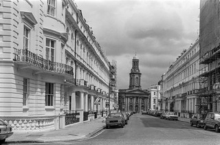 Stanley Gardens, St Peter's Church, Notting Hill, Kensington & Chelsea, 1987 87-6d-12-positive_2400