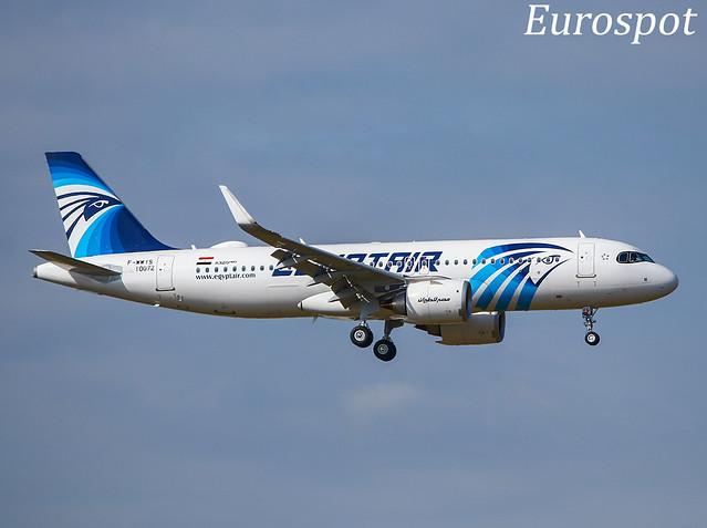 F-WWIS Airbus A320 Neo Egyptair