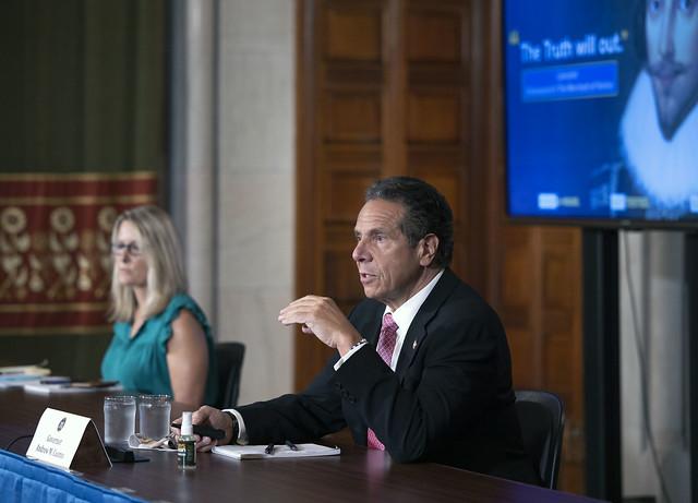 Governor Cuomo Holds Briefing - 7/24