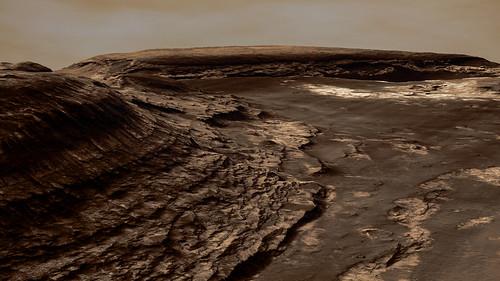 Hellas Planitia view - Mars
