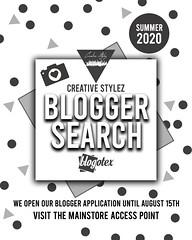 Creative Stylez Summer Blogger Search