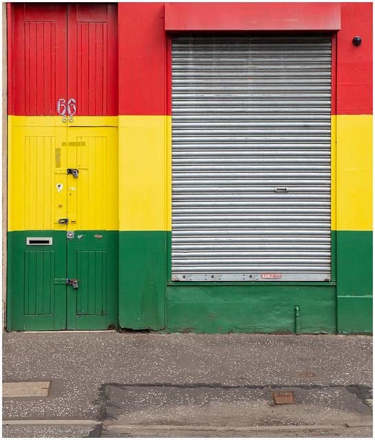 Colourful Shop, Glasgow