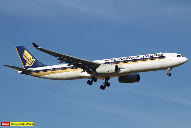 9V-STF | Airbus A330-343 | Singapore Airlines