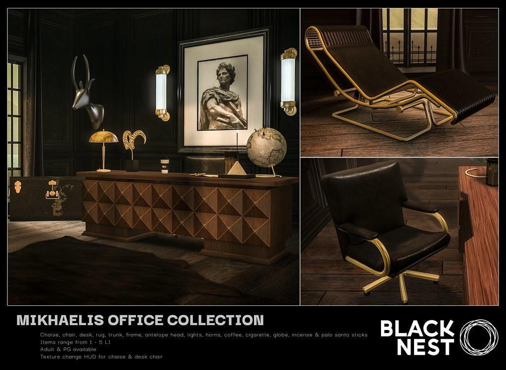 BLACK NEST / Mikhaelis Office Collection / Uber
