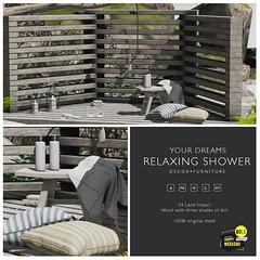 {YD} Relaxing shower