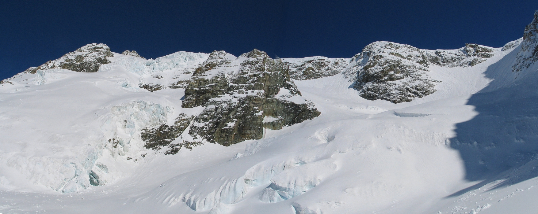 Sattelhorn Berner Alpen / Alpes bernoises Switzerland panorama 04