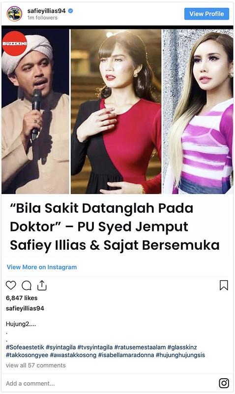 """""""Tolak Pelawaan PU Bukan Ajaran Islam"""" - Safiey Illias"""