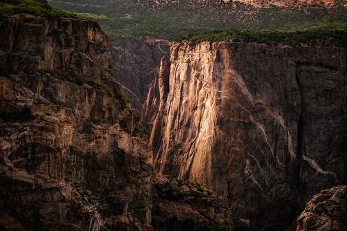 nationalpark colorado landscapes sunset blackcanyonofthegunnisonnationalpark canyon landscape montrose unitedstatesofamerica