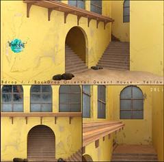 Bdrop // BackDrop Oriental Desert House