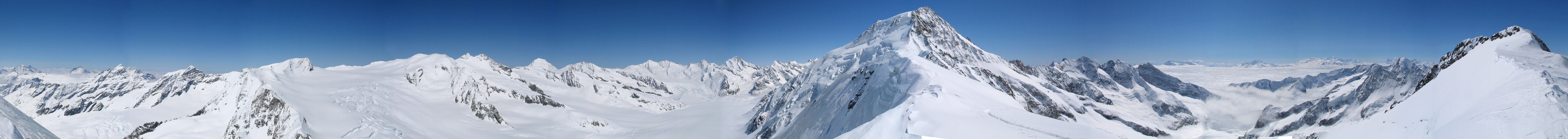 Sattelhorn Berner Alpen / Alpes bernoises Switzerland panorama 11