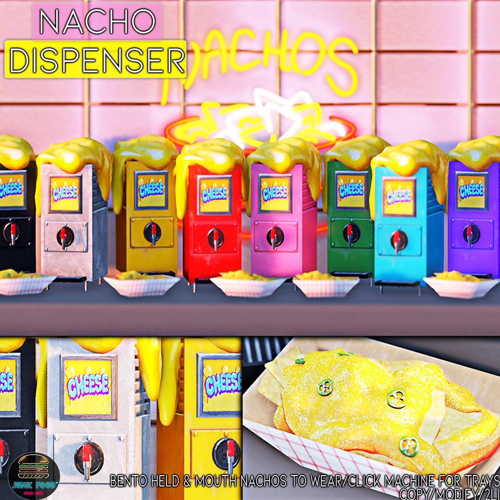 Junk Food – Nacho Machine Ad