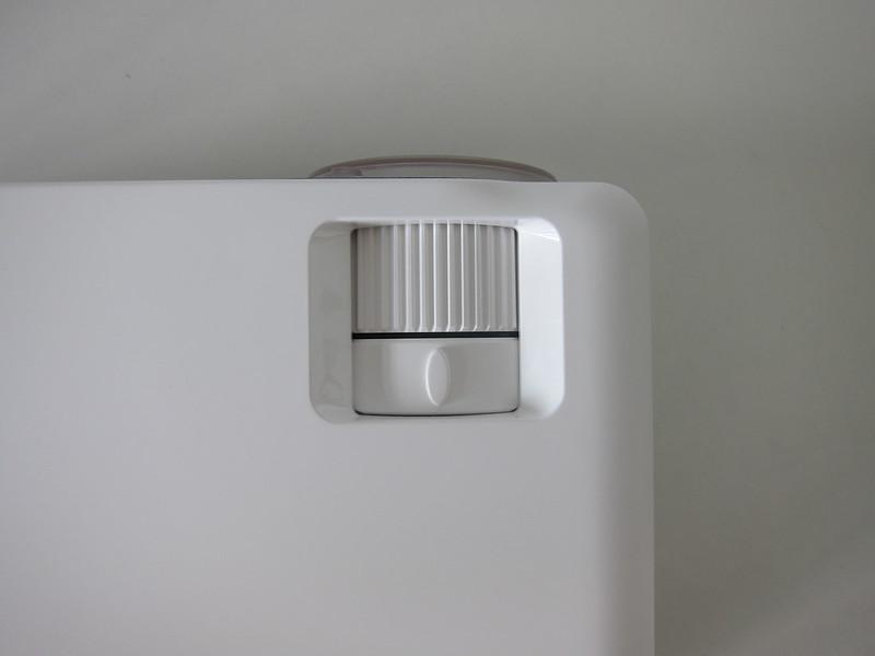 Lumos Auro - Top - Adjustment Knobs