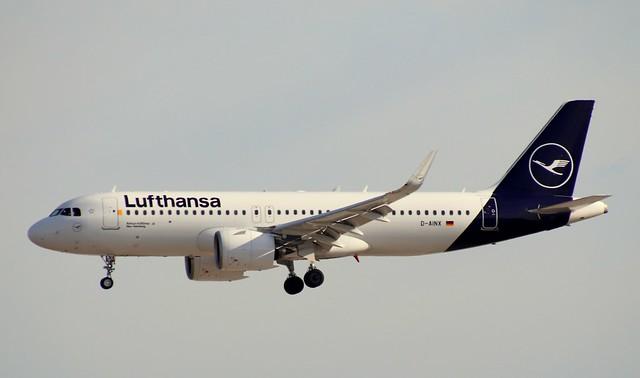 Lufthansa, D-AINX, MSN 9229, Airbus A 320-271N, 04.07.2020,  FRA-EDDF, Frankfurt