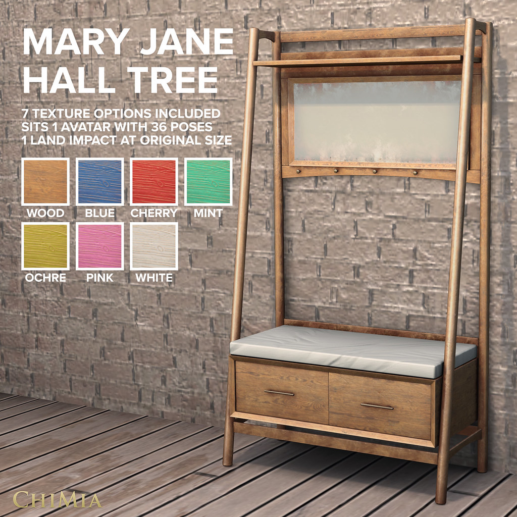 Fifty Linden Fridays 24 July 2020: Mary Jane Hall Tree by ChiMia