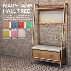 Fifty Linden Fridays 24 July 2020: Mary Jane Hall Tree by ChiMia