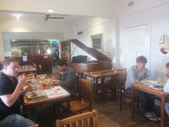 Dining Area with piano, Kilcunda  Ocean View Hotel