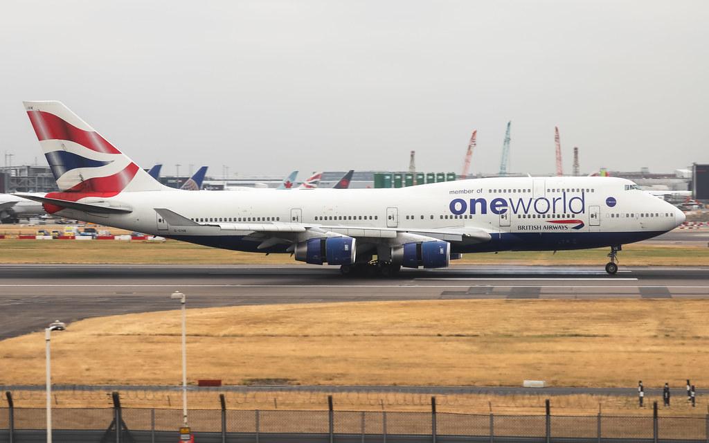 G-CIVK BRITISH AIRWAYS BOEING 747-400