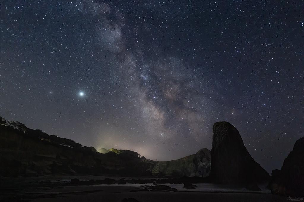 Milky Way from the Oregon coast