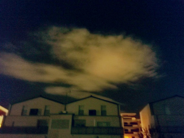 Clouds in the night