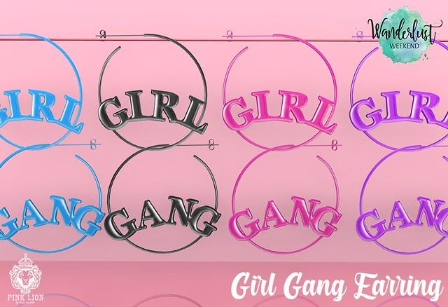Girl Gang Earring
