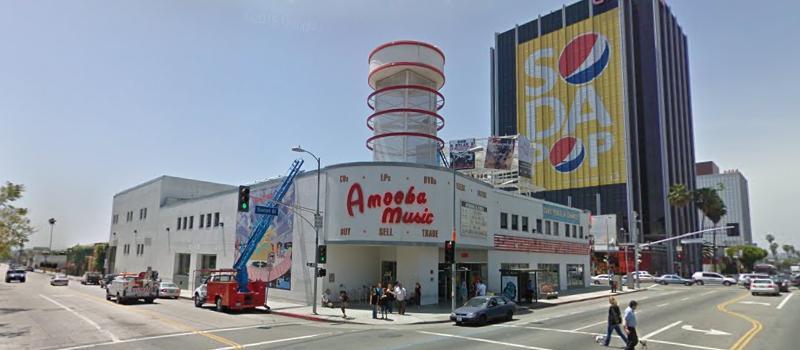 La tienda Amoeba Music