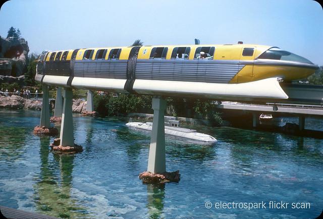 Disneyland Monorail — 1964