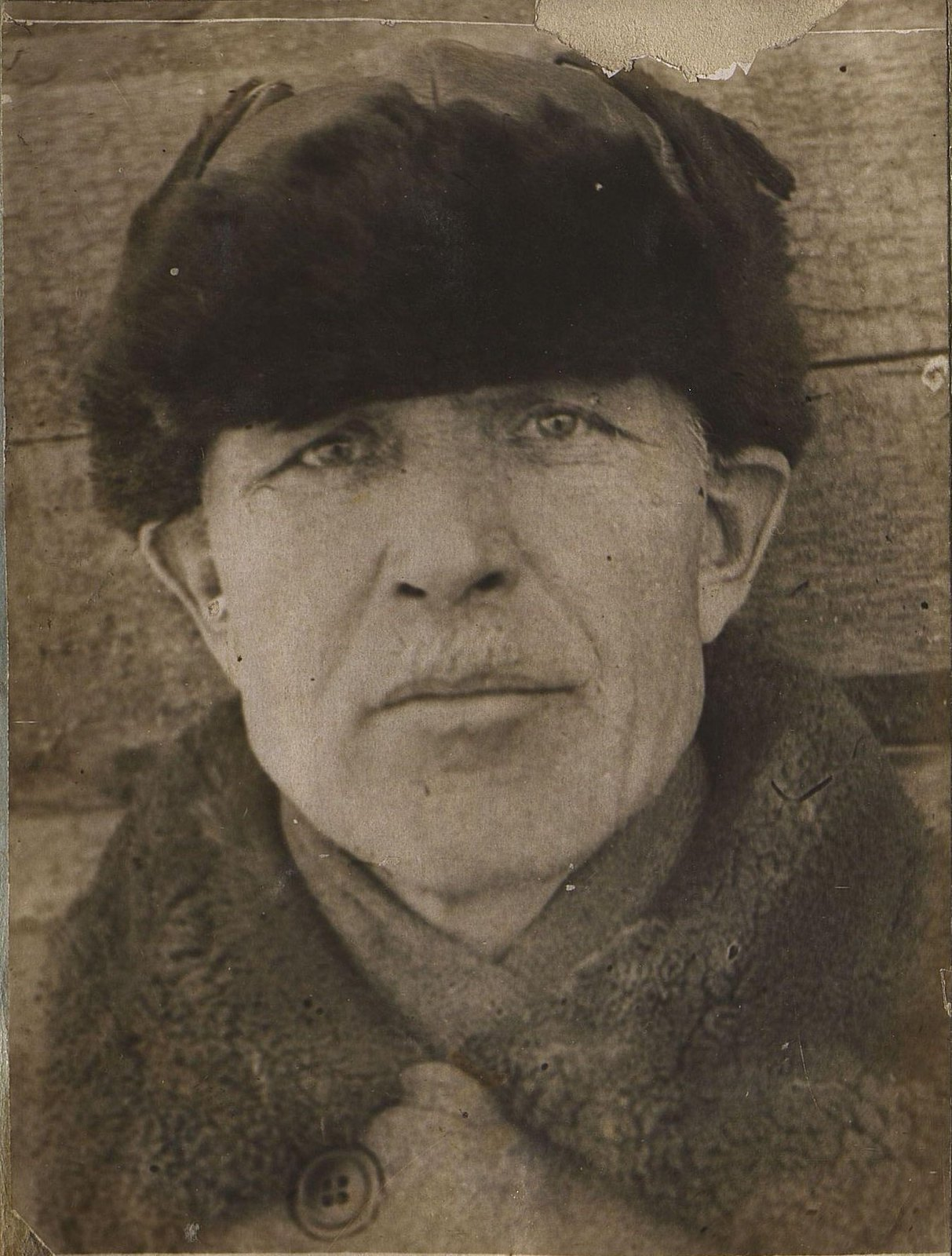 25. 1937. Ушаков Иван Ефимович, начальник строительства дома на Можайском шоссе