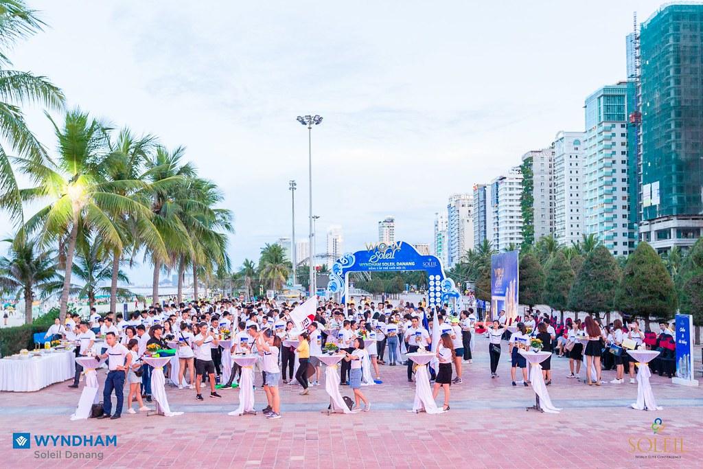 Team ERA Vietnam tham dự kickoff Wyndham Soleil Đà Nẵng 10