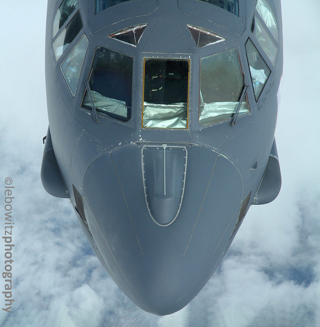Up close and personal with a B-52