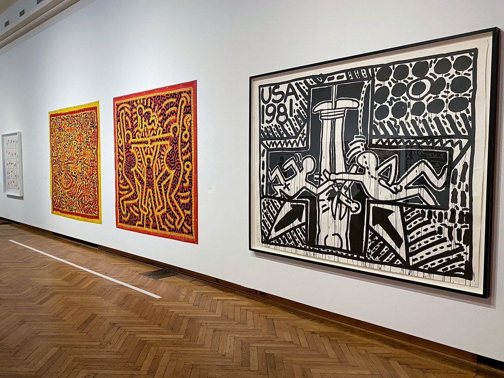 1981- Discovery of the AIDS virus by Keith Haring