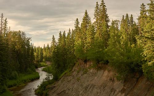 landscape whitemud creek