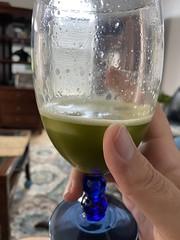 Celery juice it's what's for breakfast cheers