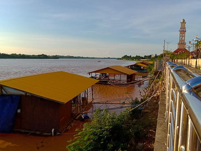 Kelantan River at Kota Bharu