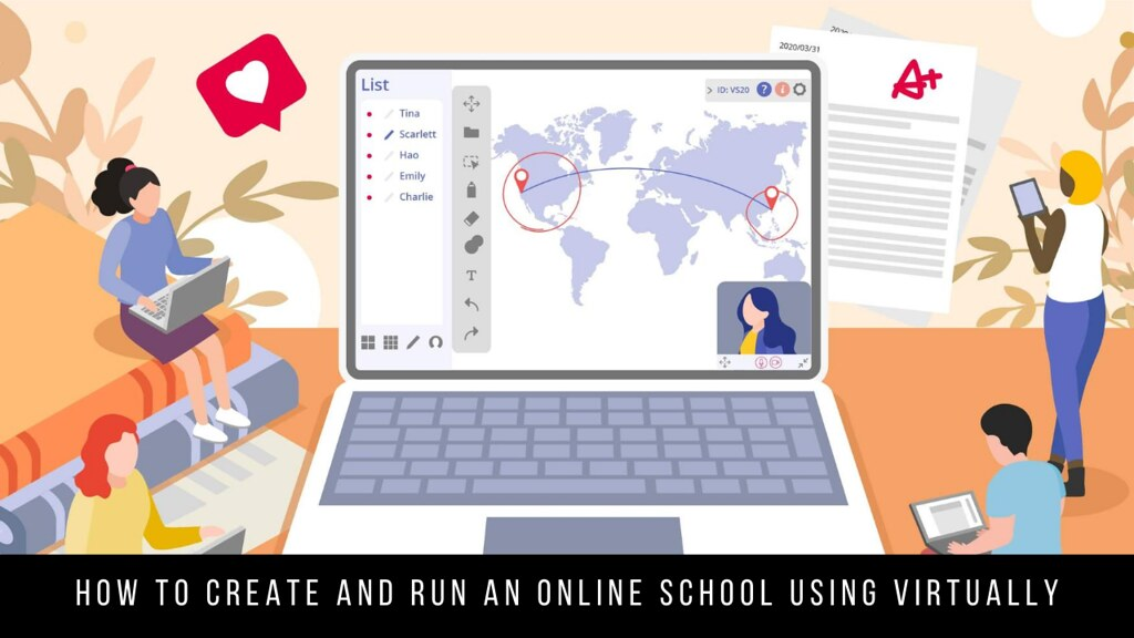 How to Create and Run an Online School Using Virtually