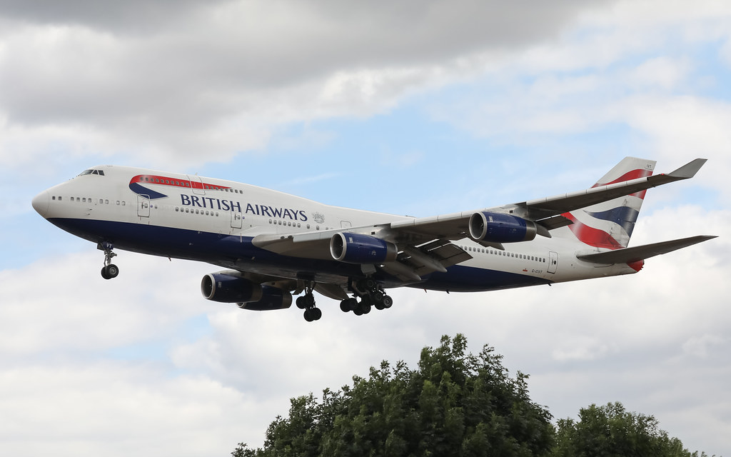 G-CIVT BRITISH AIRWAYS BOEING 747-400
