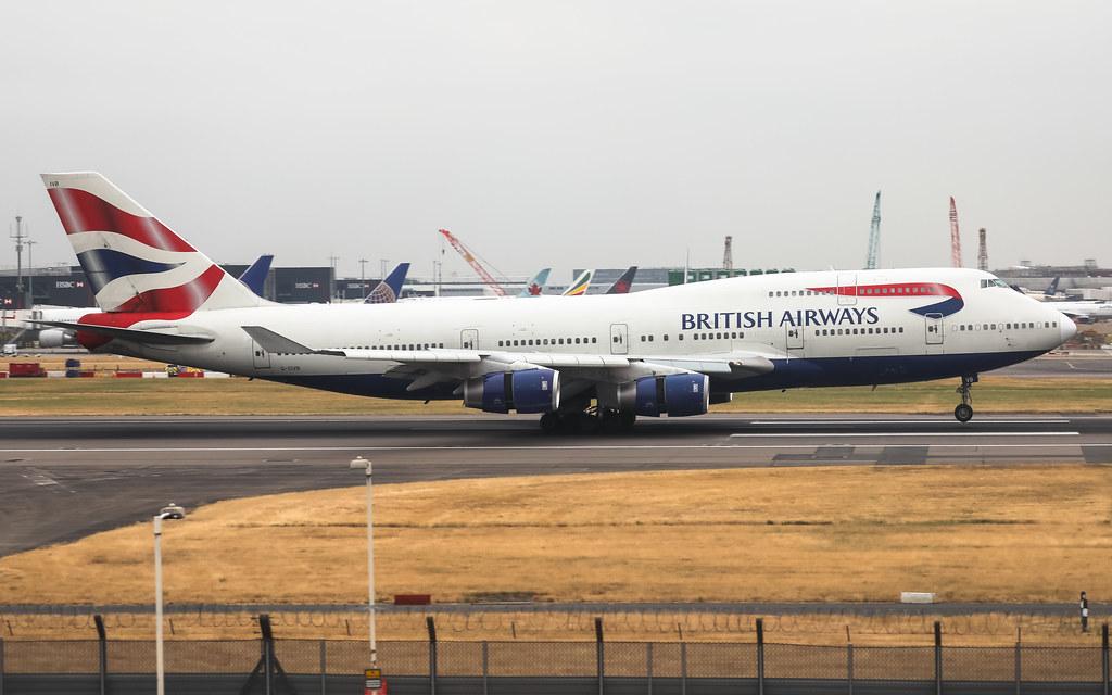 G-CIVB BRITISH AIRWAYS BOEING 747-400
