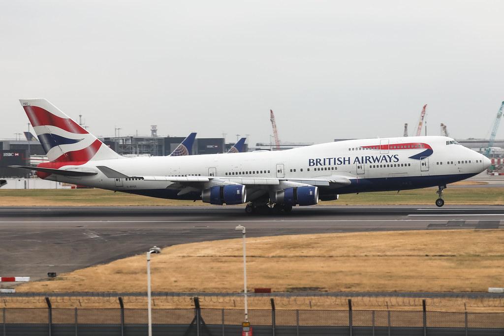 G-BYGC BRITISH AIRWAYS BOEING 747-400