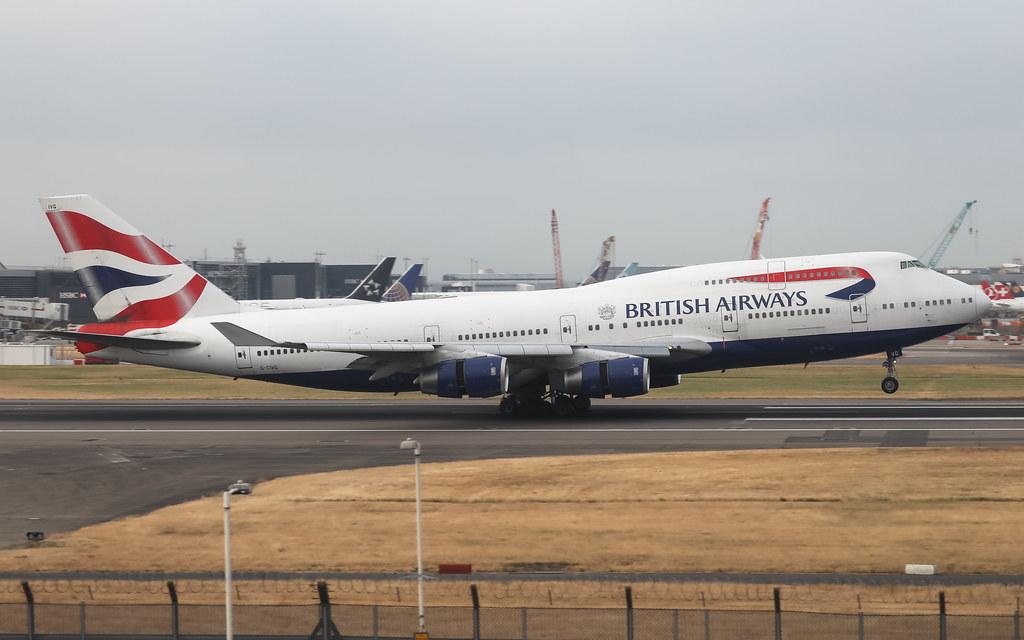 G-CIVG BRITISH AIRWAYS BOEING 747-400