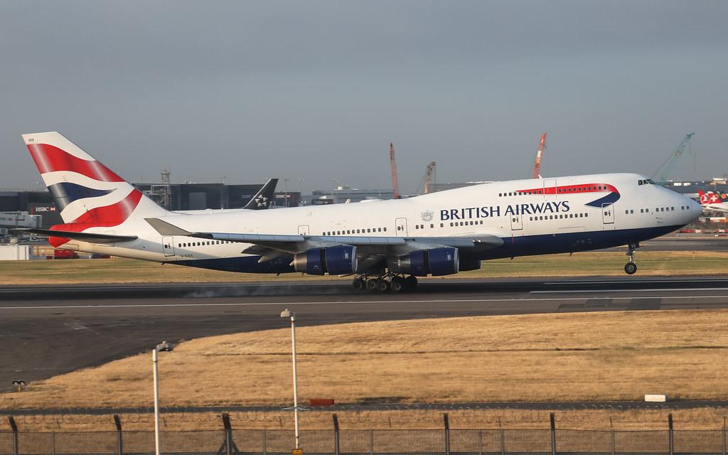 G-CIVX BRITISH AIRWAYS BOEING 747-400