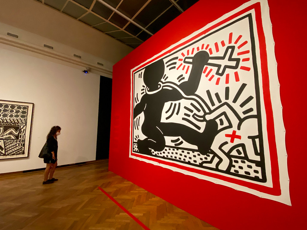 Apartheid by Keith Haring