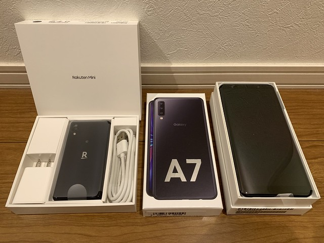 Rakuten Mini & Galaxy A7